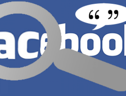 See and change Facebook posts, comments, likes and tags
